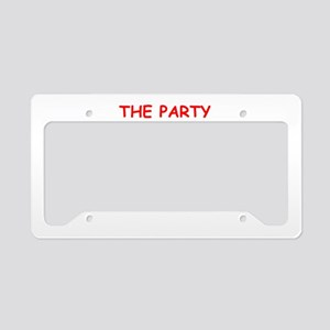 party License Plate Holder