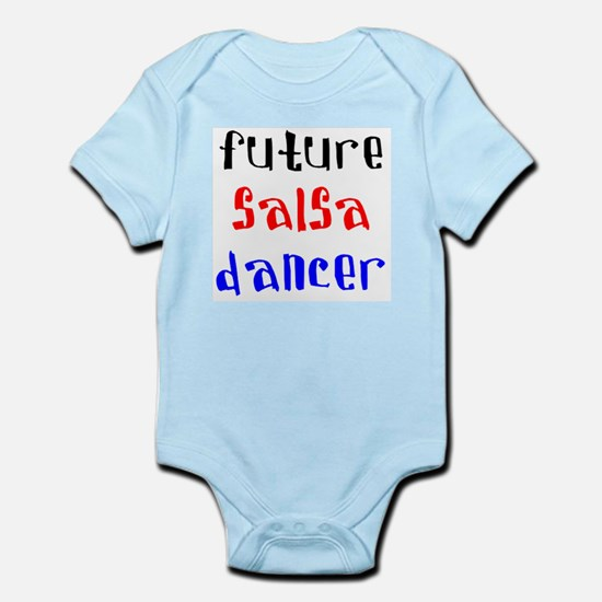 future salsa dancer Infant Bodysuit
