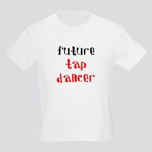 future tap dancer Kids Light T-Shirt
