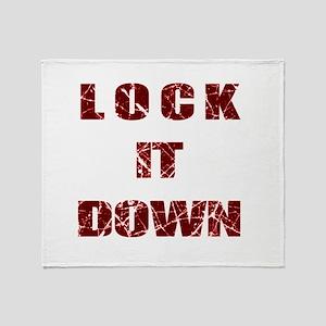 Lock it Down Throw Blanket