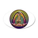 Guadalupe Circle - 1 20x12 Oval Wall Decal