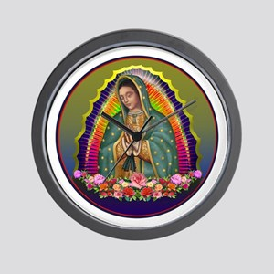 Guadalupe Circle - 1 Wall Clock