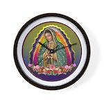 Guadalupe Circle - 1 Wall Clock