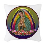 Guadalupe Circle - 1 Woven Throw Pillow