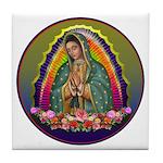 Guadalupe Circle - 1 Tile Coaster