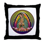 Guadalupe Circle - 1 Throw Pillow