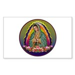Guadalupe Circle - 1 Sticker (Rectangle 10 pk)