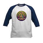 Guadalupe Circle - 1 Kids Baseball Jersey