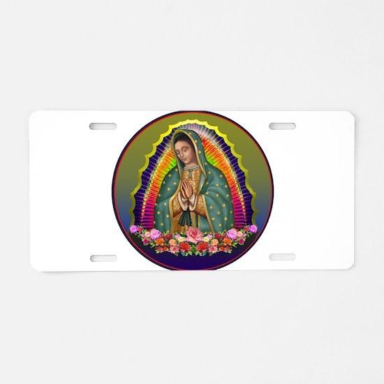 Guadalupe Circle - 1 Aluminum License Plate