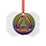 Guadalupe Circle - 1 Picture Ornament