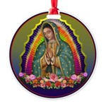 Guadalupe Circle - 1 Round Ornament
