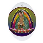 Guadalupe Circle - 1 Ornament (Oval)