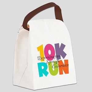 10K Run Multi-Colors Canvas Lunch Bag