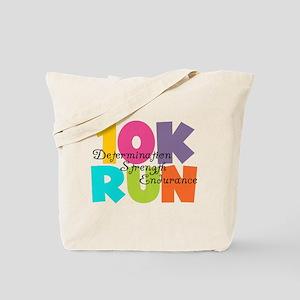 10K Run Multi-Colors Tote Bag