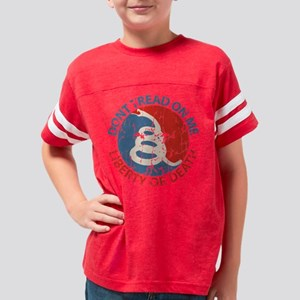 Don't Tread on Me Youth Football Shirt