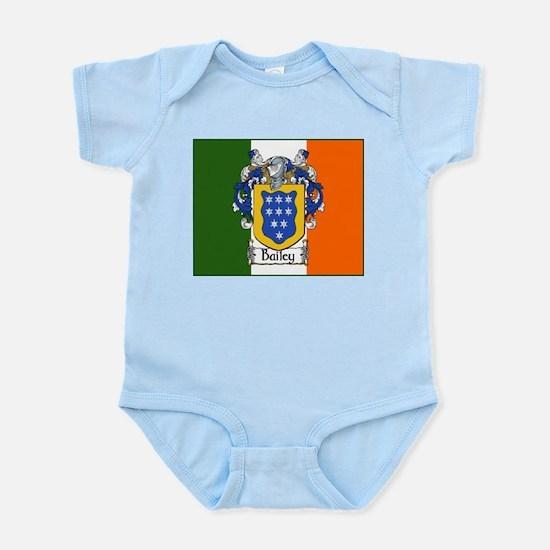 Bailey Arms Tricolour Infant Bodysuit