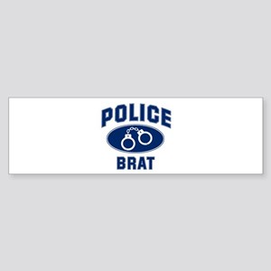 Police Cuffs: BRAT Bumper Sticker