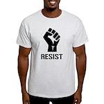 Resist Fist Liberal Politics Light T-Shirt
