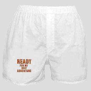 My Next Adventure Boxer Shorts