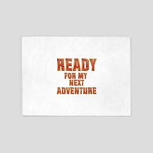 My Next Adventure 5'x7'Area Rug