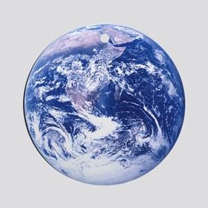 Full Earth Ornament (Round)
