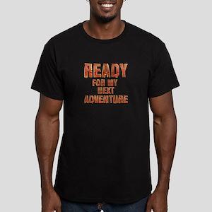 My Next Adventure Men's Fitted T-Shirt (dark)