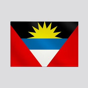 Antigua and Barbuda Flag Rectangle Magnet