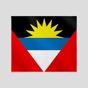 Antigua and Barbuda Flag Throw Blanket
