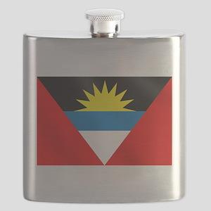 Antigua and Barbuda Flag Flask