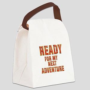 My Next Adventure Canvas Lunch Bag