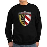 Nuremberg Germany Metallic Shield Sweatshirt