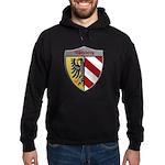 Nuremberg Germany Metallic Shield Hoodie