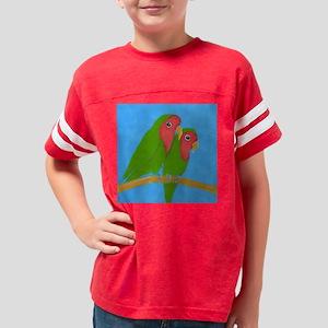 lovebirds-squ Youth Football Shirt