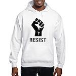 Resist Fist Liberal Politics Hooded Sweatshirt