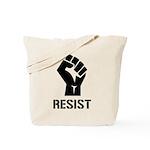 Resist Fist Liberal Politics Tote Bag