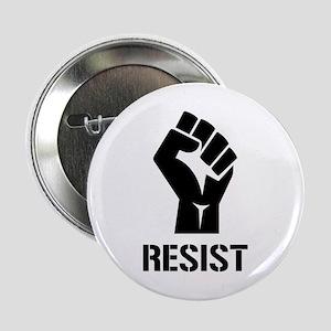 "Resist Fist Liberal Politics 2.25"" Button"