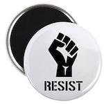 Resist Fist Liberal Politics Magnet