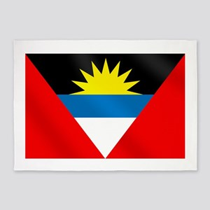 Antigua and Barbuda Flag 5'x7'Area Rug