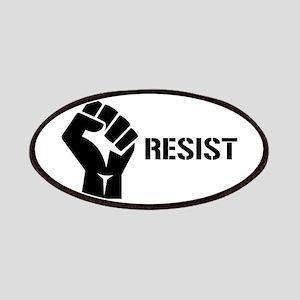 Resist Fist Liberal Politics Patch