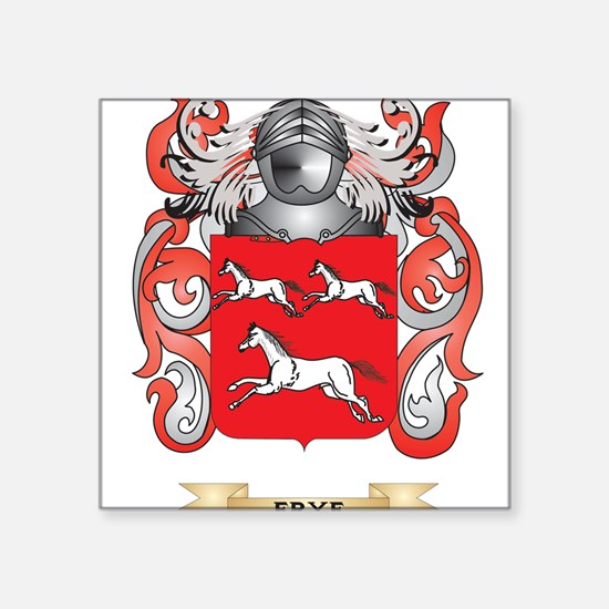 Frye Coat of Arms Sticker