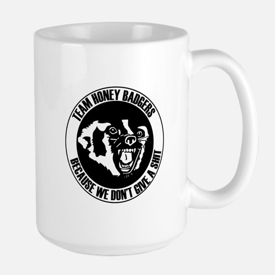 Team Honey Badgers Round Mug