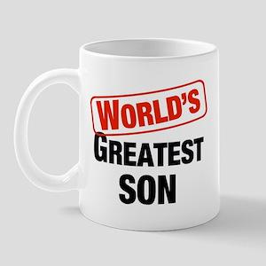 World's Greatest Son Mug
