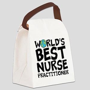 World's Best Nurse Practitioner Canvas Lunch B