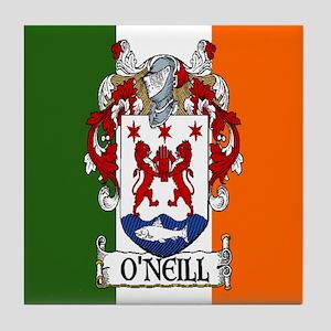 O'Neill Arms Tricolour Tile Coaster