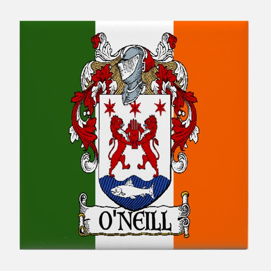 O'Neill Arms Tricolour Tile Coaster