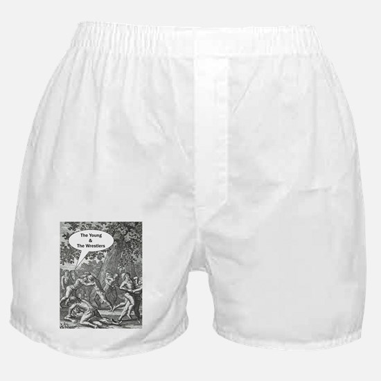 The Young & The Wrestlers Boxer Shorts