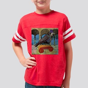 showerCurtainWellRaven Youth Football Shirt