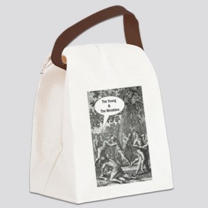 The Young & The Wrestlers Canvas Lunch Bag