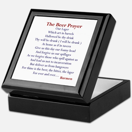 Bar Gifts, Beer Keepsake Box