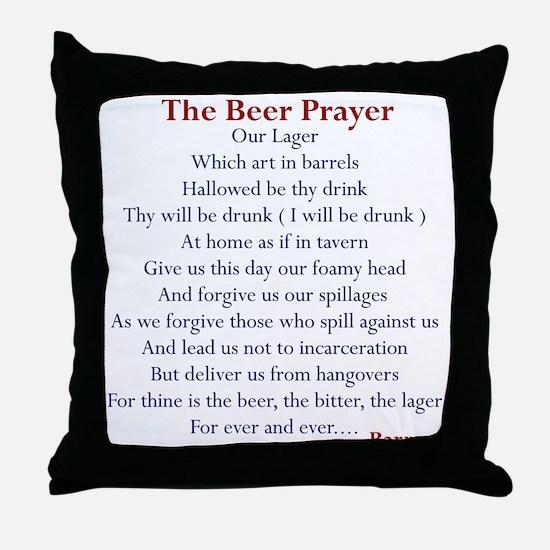 Bar Gifts, Beer Throw Pillow